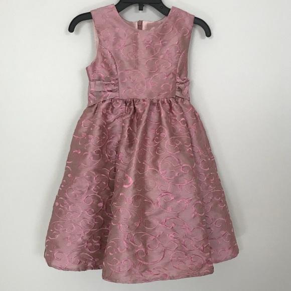 Sweet Heart Rose Dresses 3t Dusty Rose Pink Formal Dress Poshmark